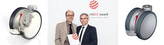 Díjátadó red dot design award